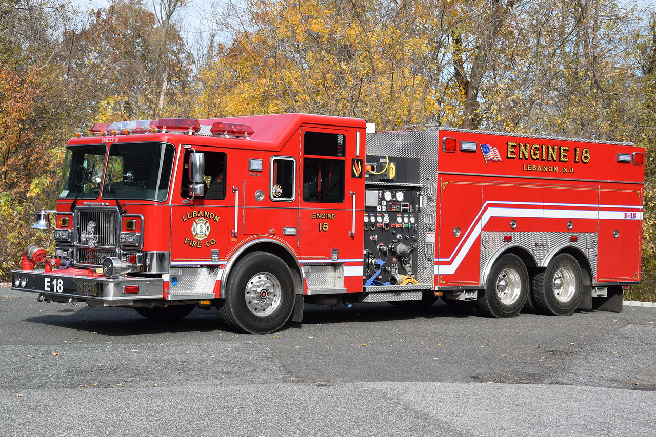 Lebanon Fire Company Engine 18