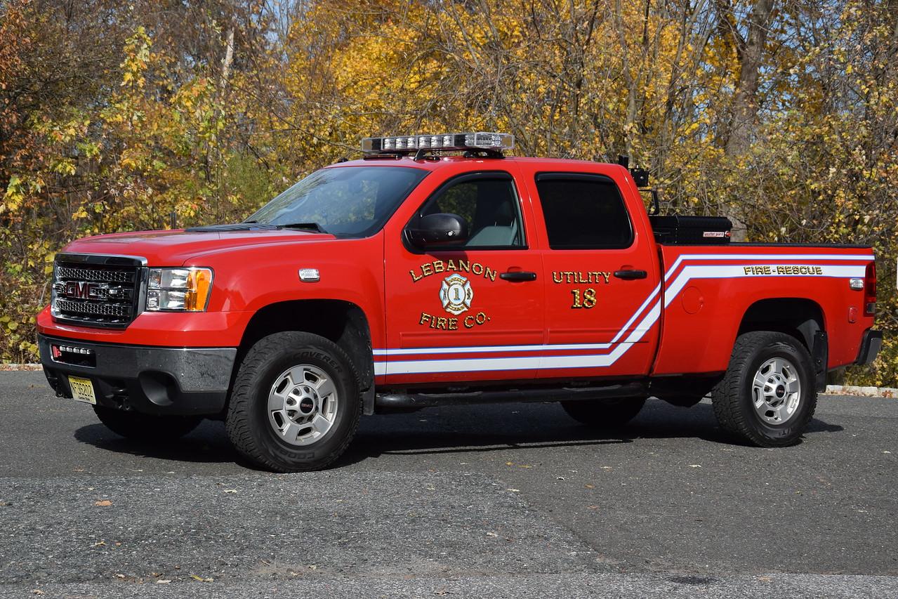 Lebanon Fire Company Utility 18