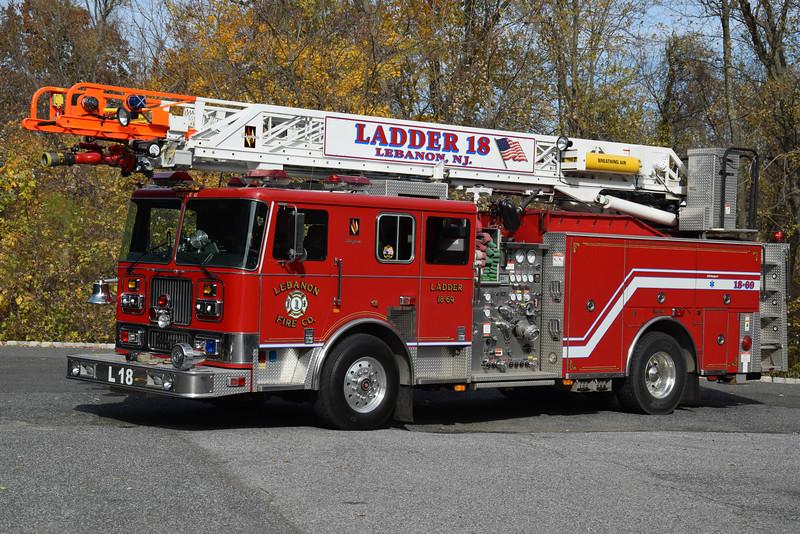 Lebanon Fire Company Ladder 18