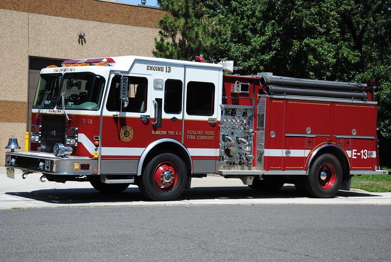 Rusling Hose Fire Company Engine 13
