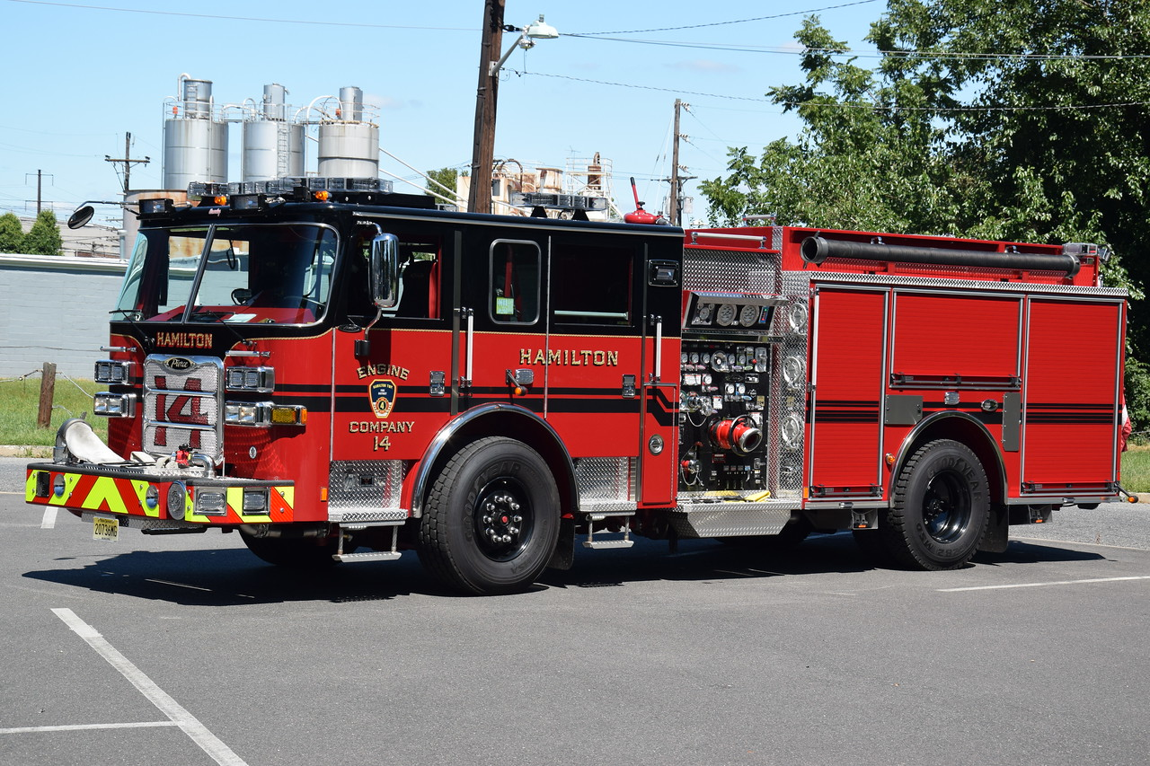 Hamilton Fire Company Engine 14