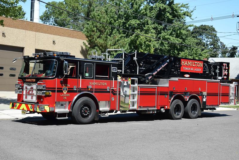 Hamilton Fire Company Tower Ladder 14