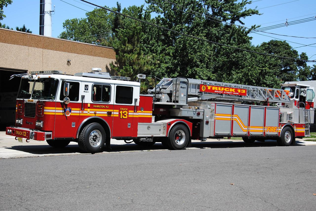 EX-Rusling Hose Fire Company Truck 13
