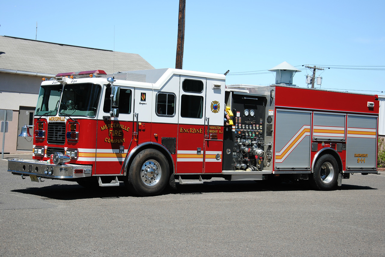 Mercerville Fire Company Engine 12