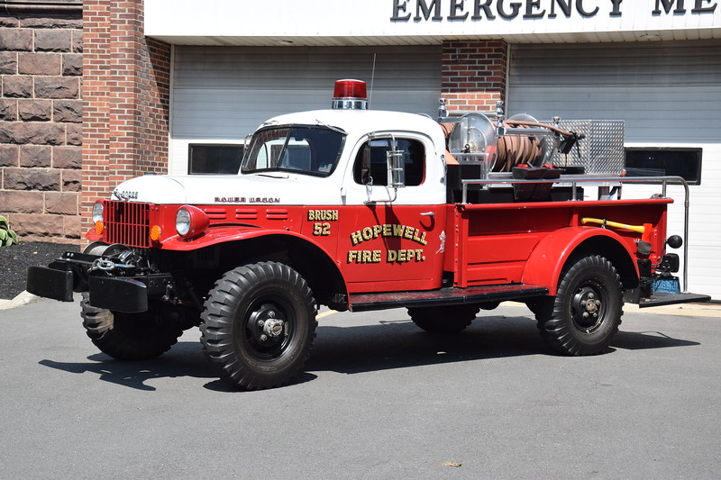 Hopewell Fire Department Brush 52