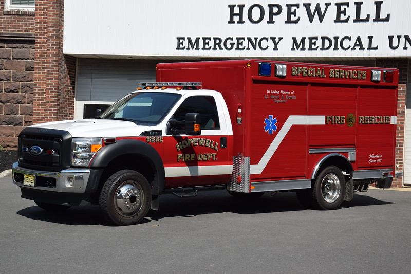 Hopewell Fire Department Special Services 52
