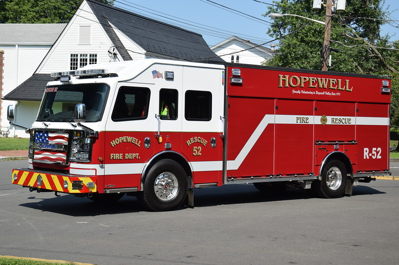 Hopewell Fire Department Rescue 52