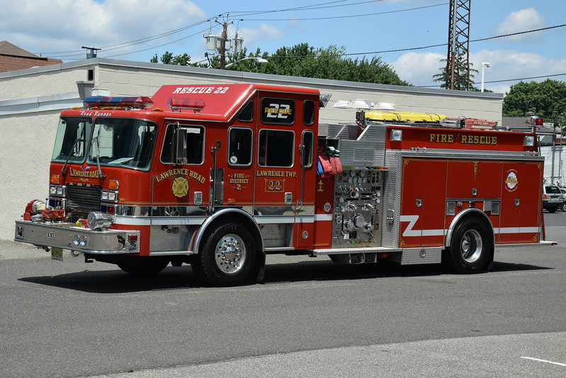 Lawrence Road Fire Company Rescue 22
