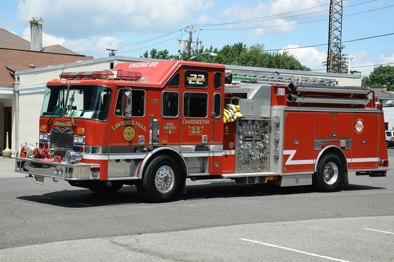 Lawrence Road Fire Company Engine 22