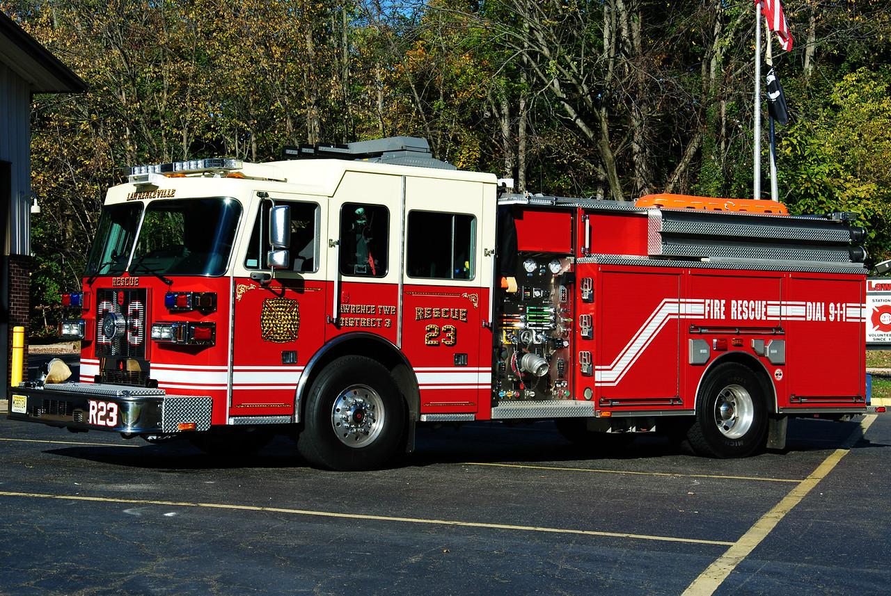 Lawrenceville Fire Company Rescue 23