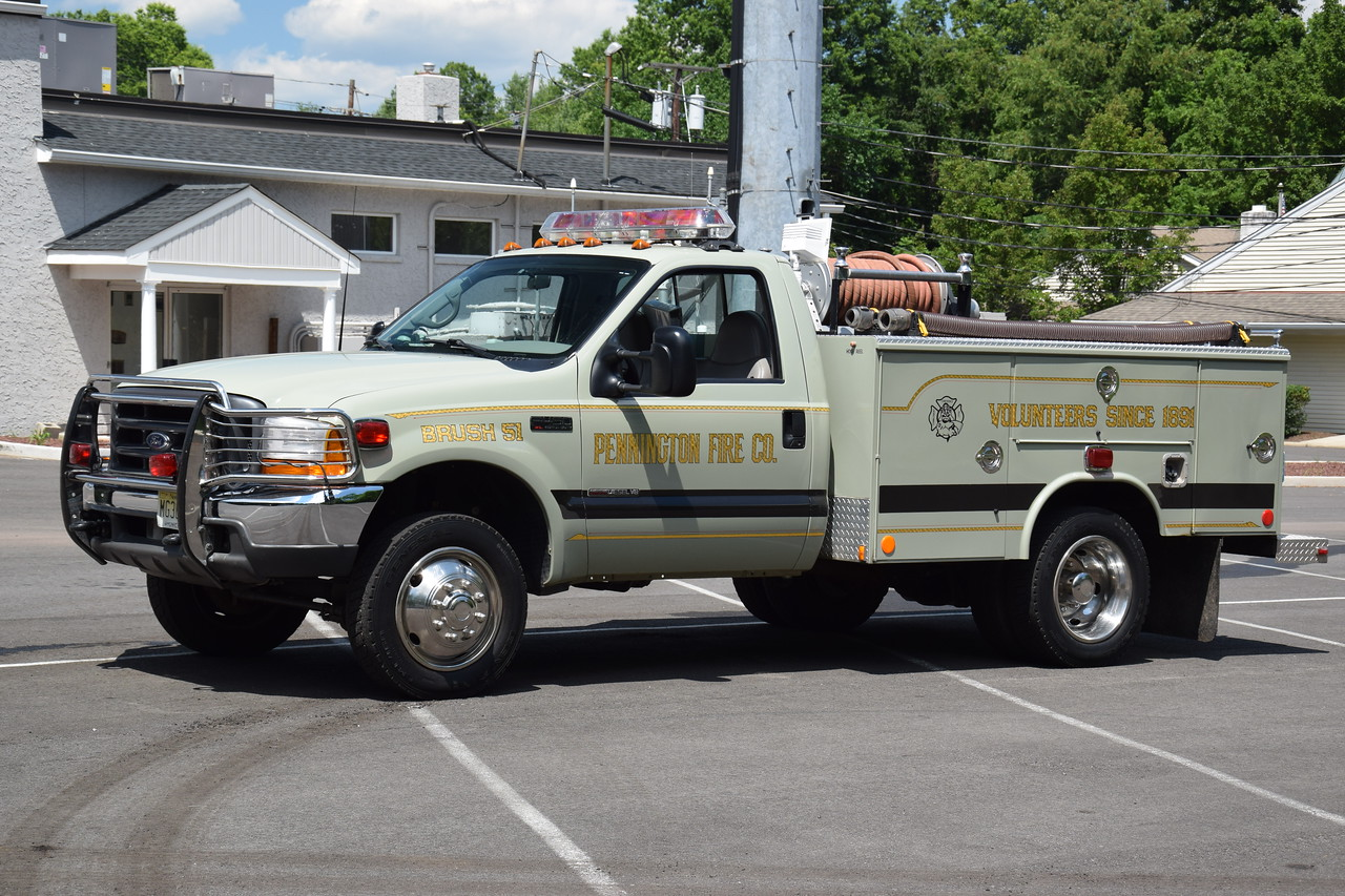 Pennington Fire Company Brush 51