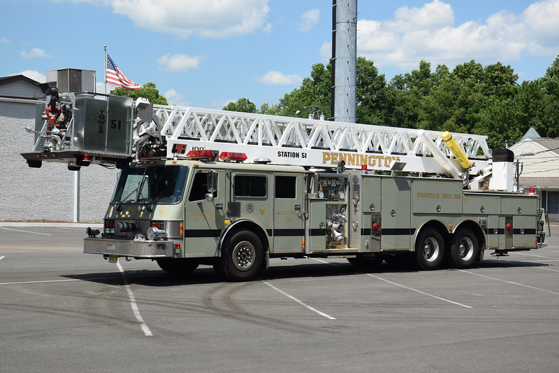 Ex-Pennington Fire Company  Tower 51