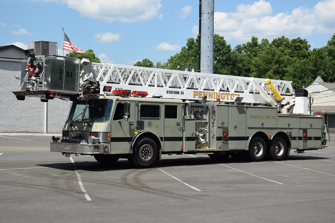 Ex-Pennington Fire Company  Tower 51