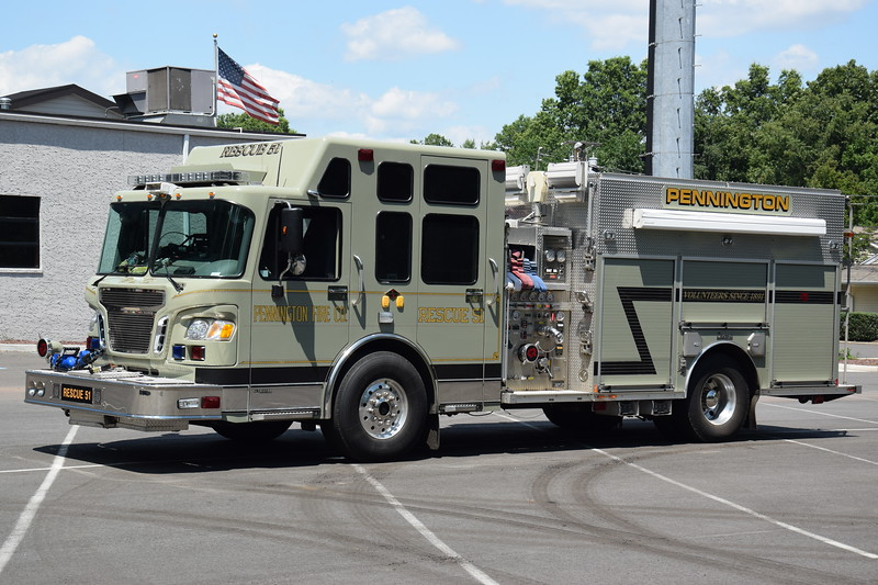 Pennington Fire Company Rescue 51