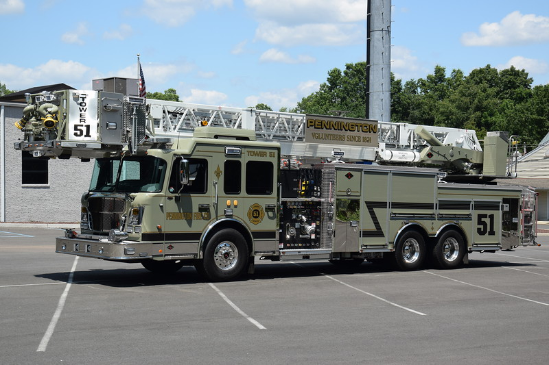 Pennington Fire Company Tower 51