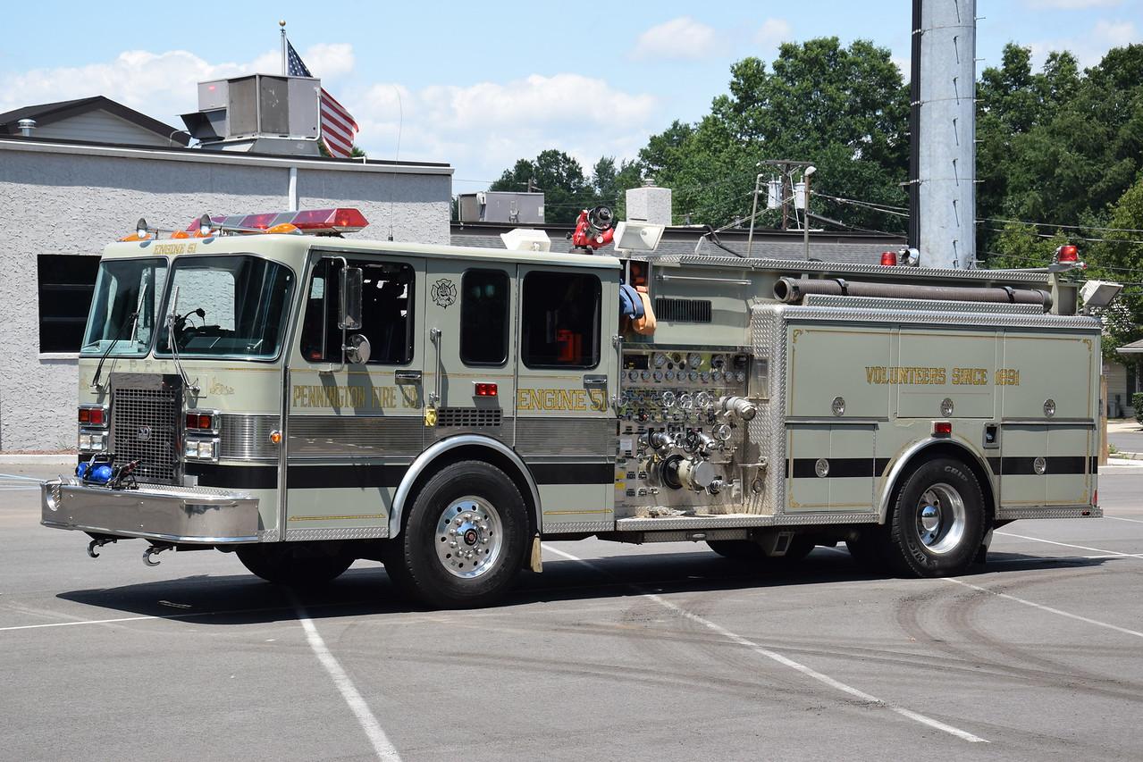 Pennington Fire Company Engine 51-1