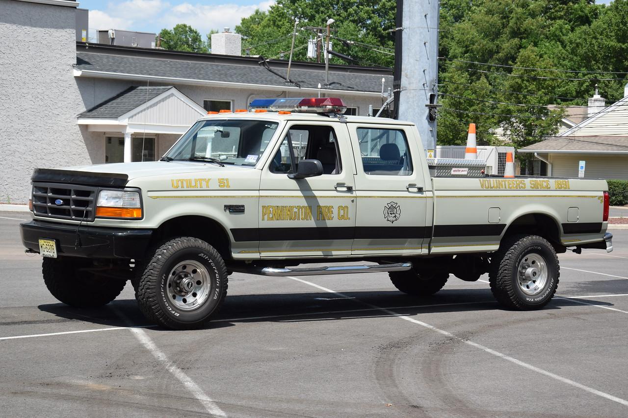 Pennington Fire Company Utility 51
