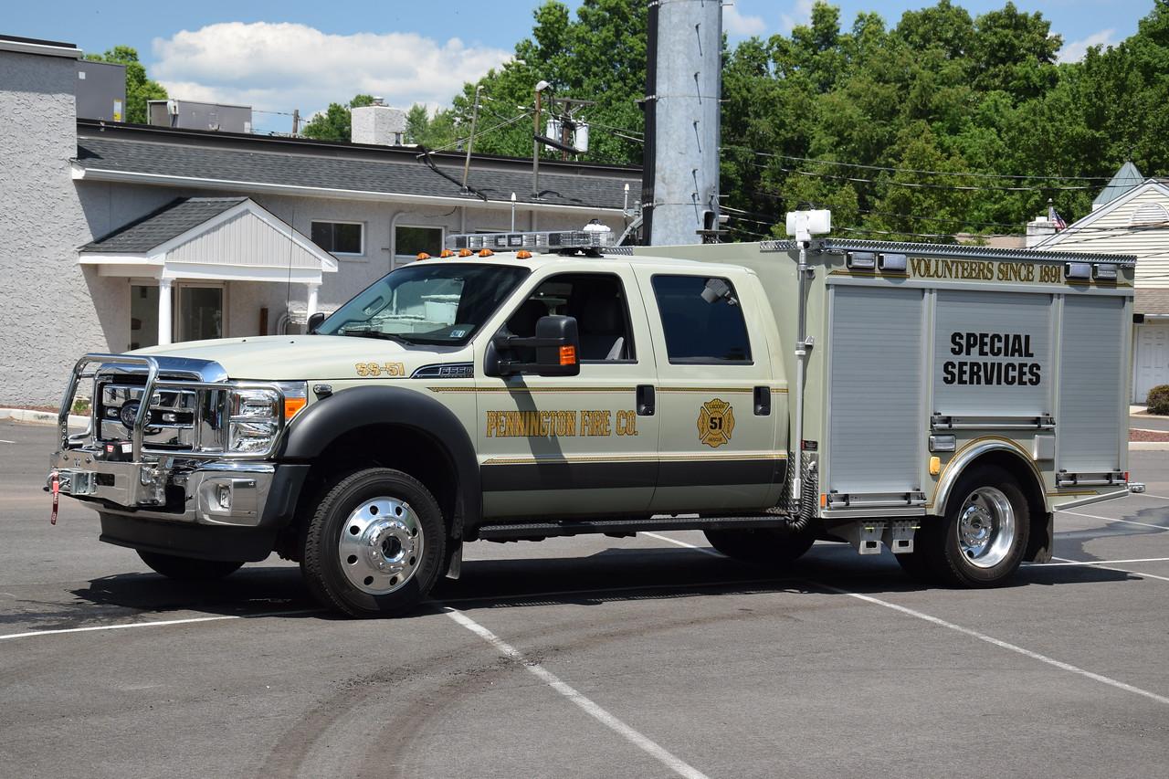Pennington Fire Company Special Services 51