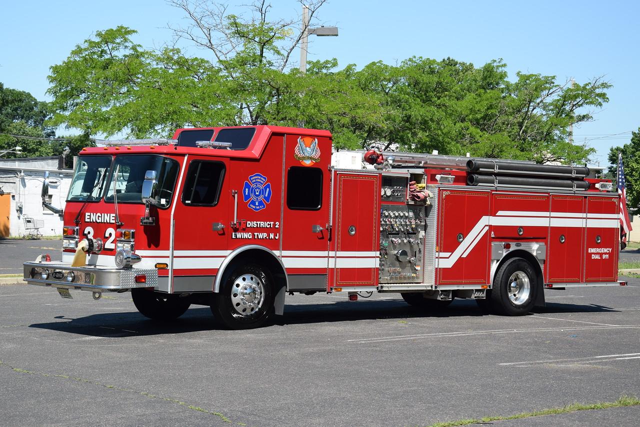 Pennington Road Fire Company Engine 32