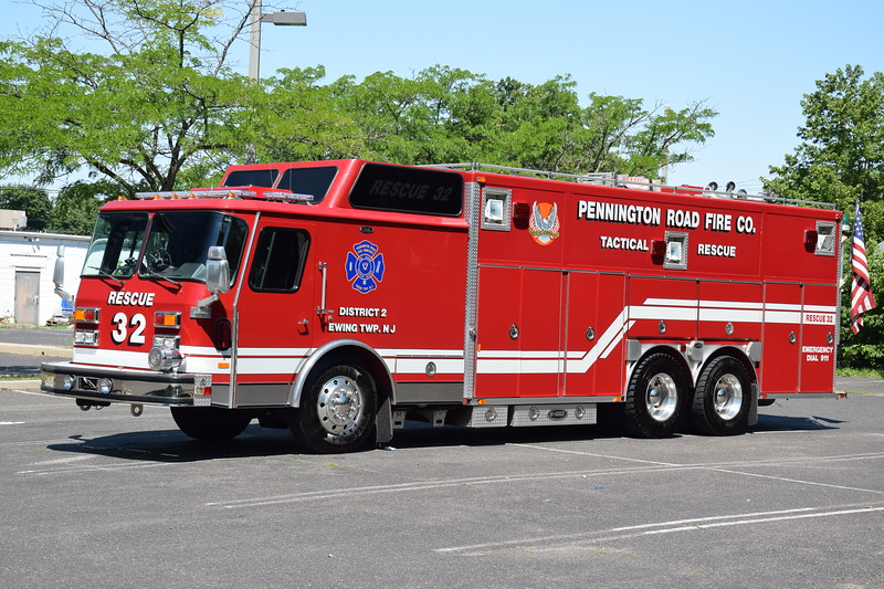 Pennington Road Fire Company Rescue 32