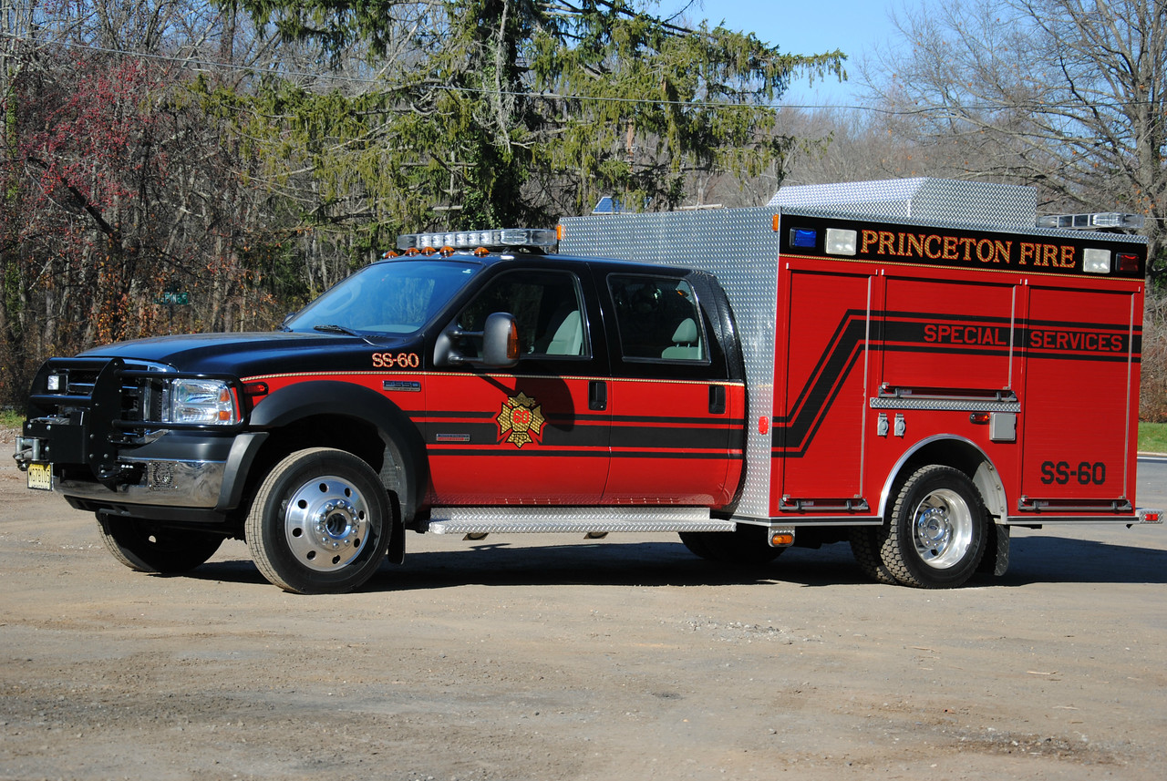 Princeton Fire Department Special Services 60