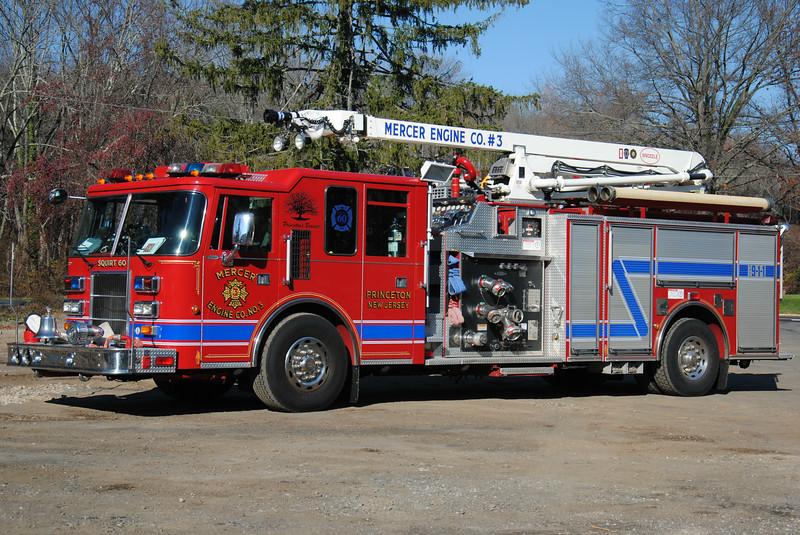 Mercer Engine Company #3 Squirt 60