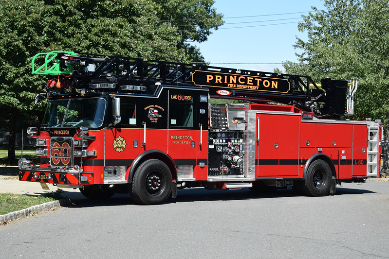 Princeton Fire Department Ladder 60