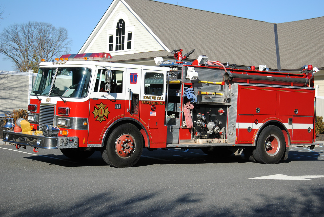 Ex-Engine Company #1 Engine 60-1