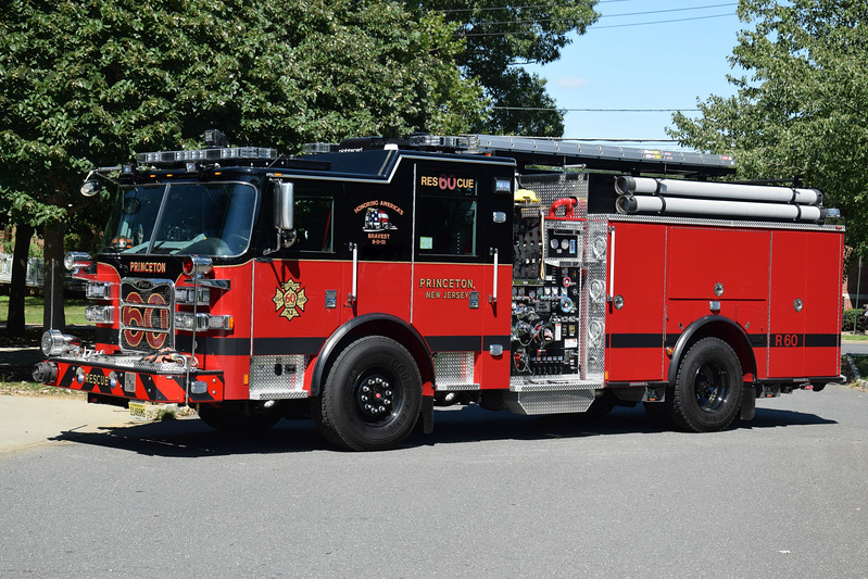 Princeton Fire Department Rescue 60