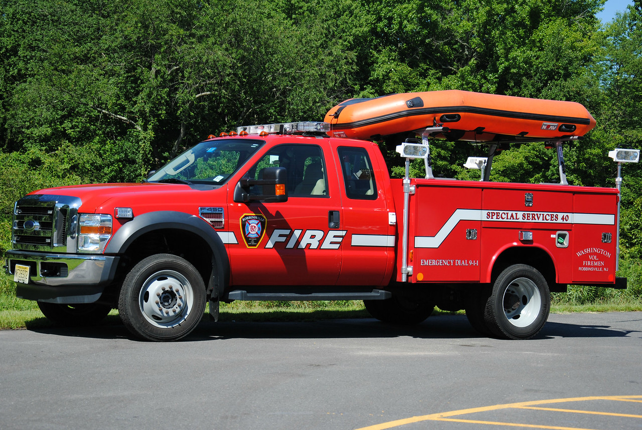 Robbinsville Fire Department Utility 40