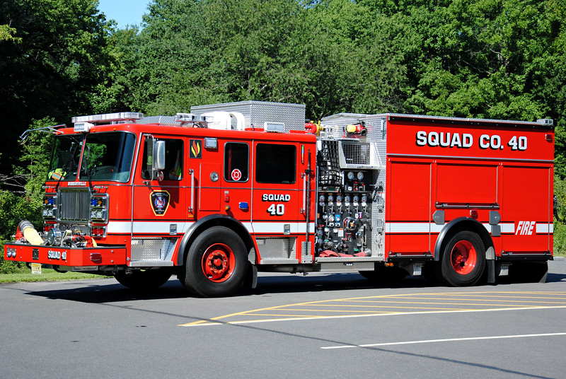 Robbinsville Fire Department Squad 40
