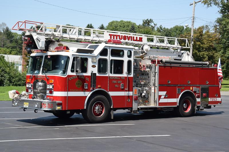 Union Fire Company Telesqurt 53