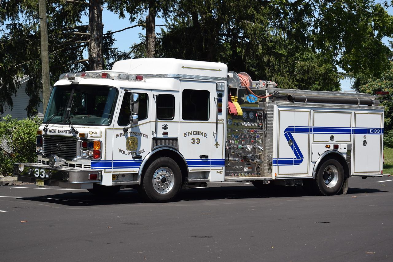 West Trenton Fire Company Engine 33