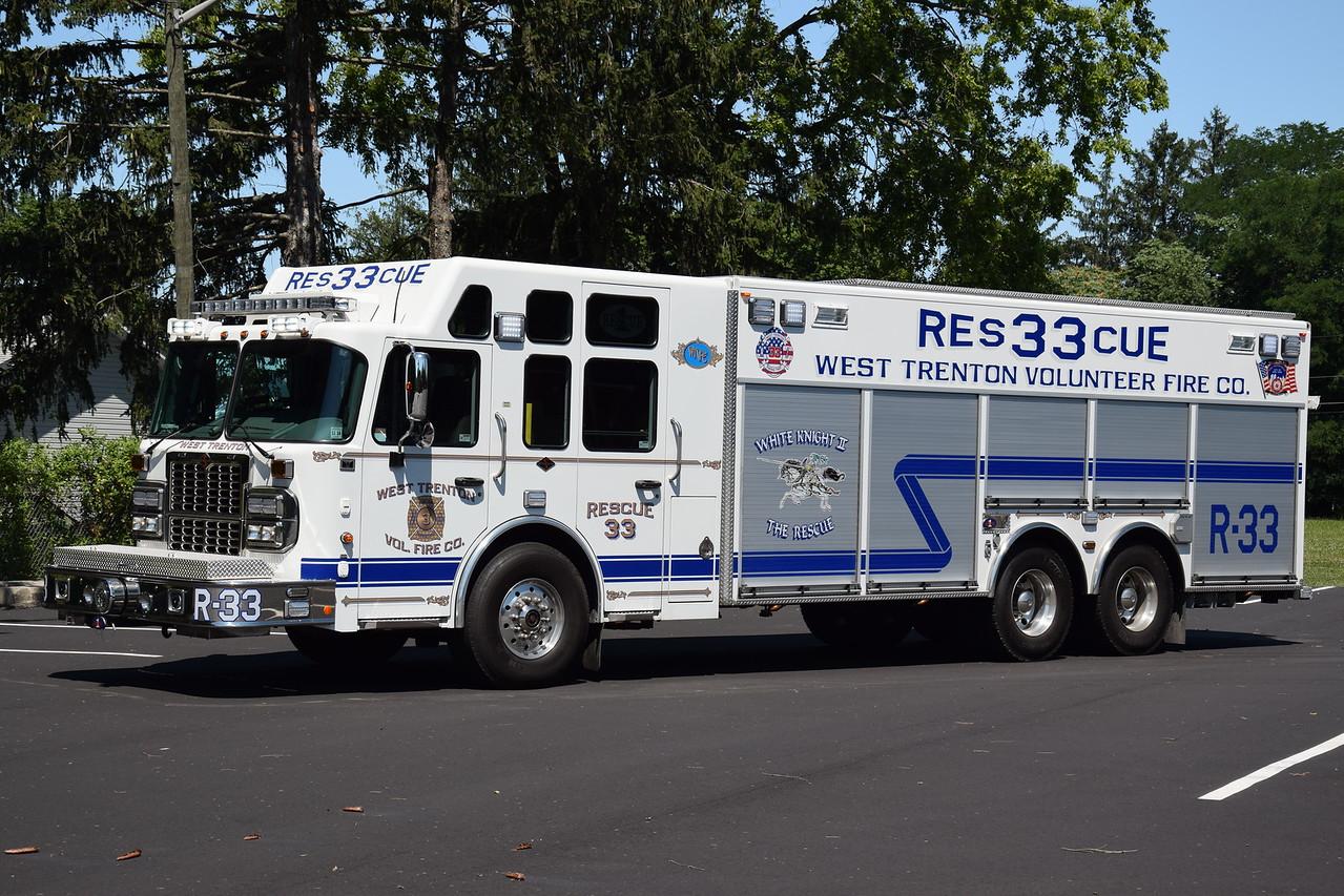 West Trenton Fire Company Rescue 33