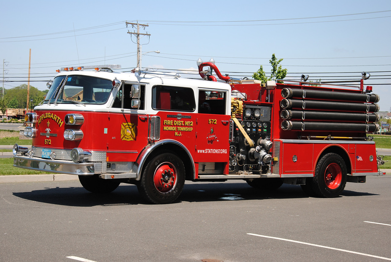 Applegarth Engine Company #1 Engine 57-2