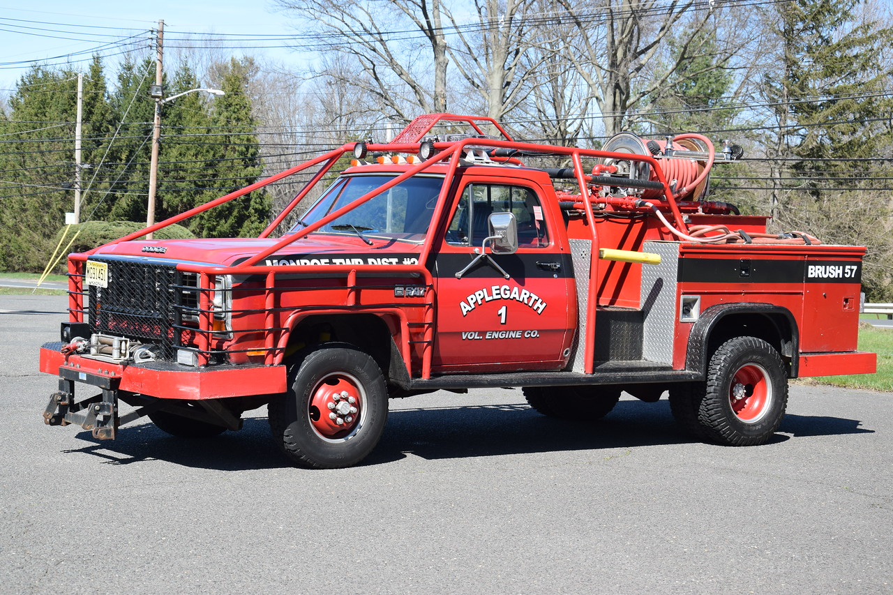 Applegarth Engine Company #1 Brush 57