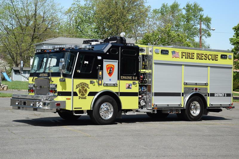Avenel Fire Department Engine 5-2