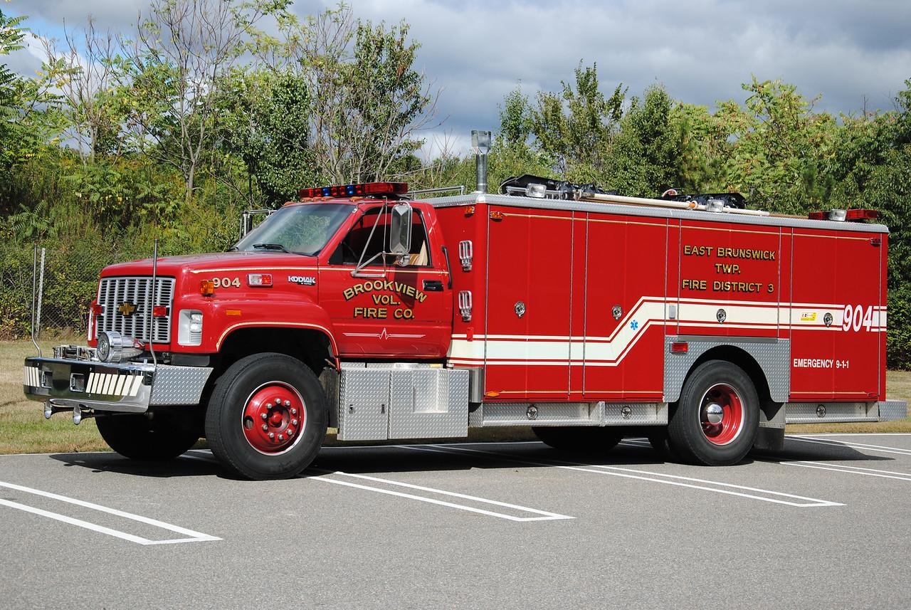 Ex-Brookview Fire Company Rescue 904