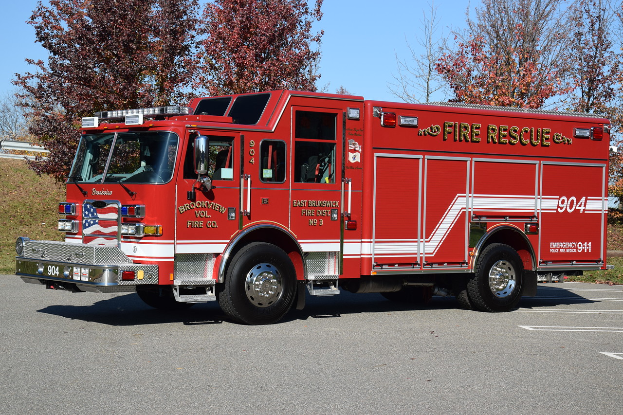 Brookview Fire Company Rescue 904