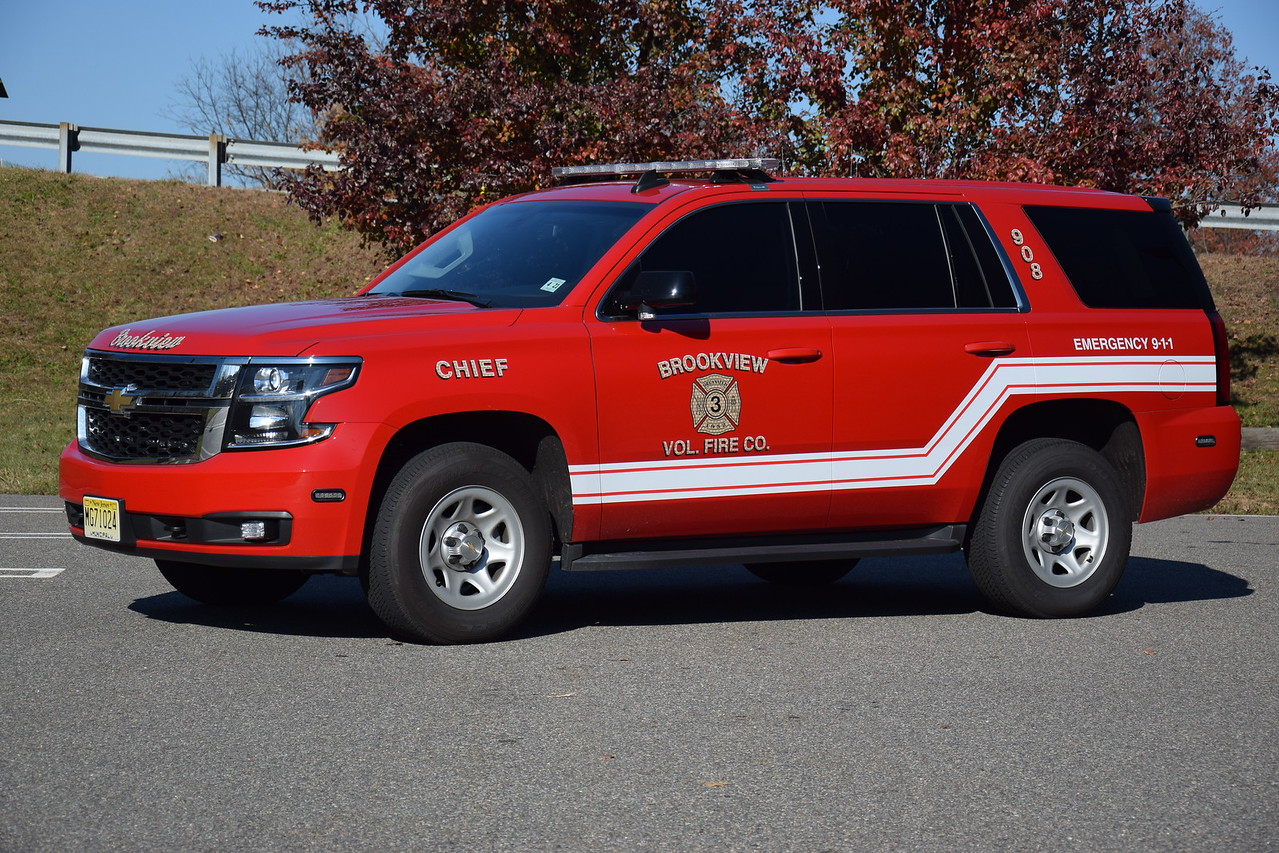 Brookview Fire Company Chief 908