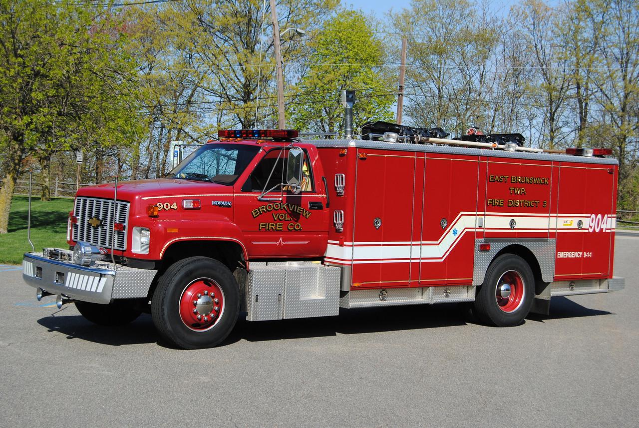 Brookview FC, East Brunswick #3 Rescue 904