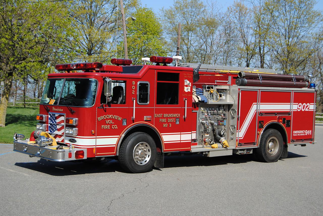 Brookview FC, East Brunswick #3 Engine 902