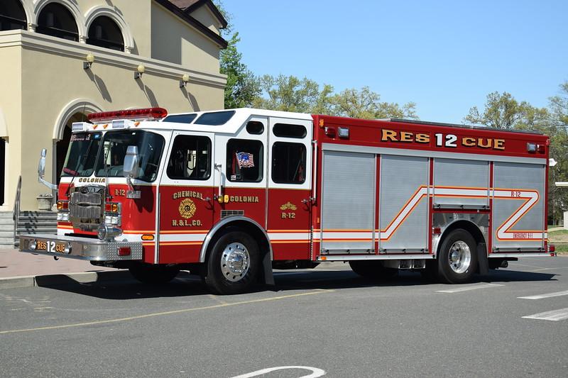 Colonia Fire Department Rescue 12