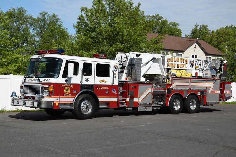 Colonia Fire Department Ladder 12-2-1