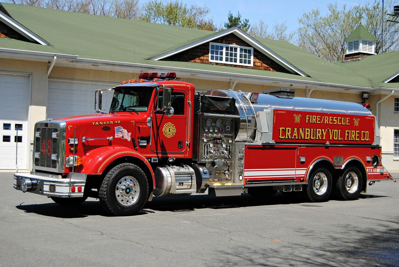 Cranbury Fire Company Tanker 48
