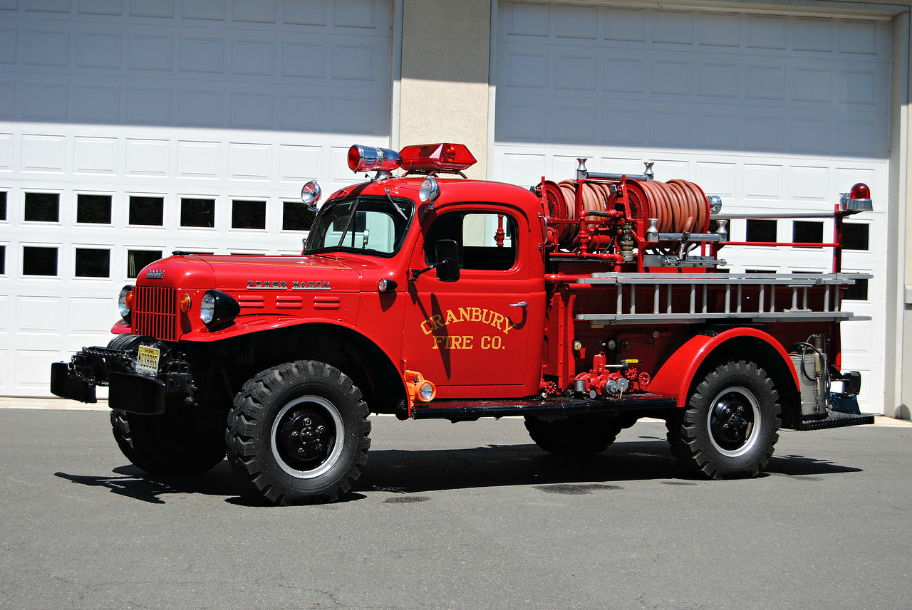 Cranbury Fire Company Antique Brush 48