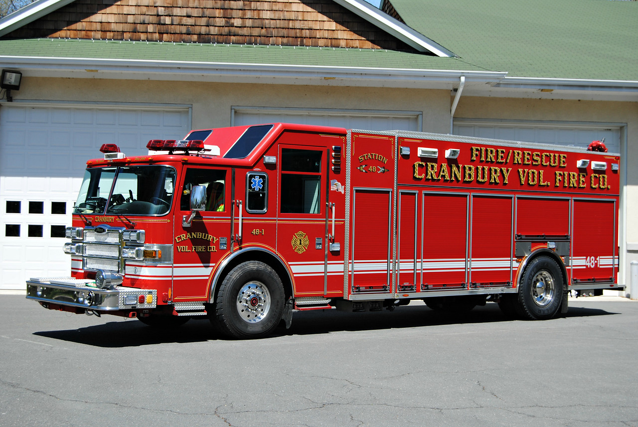 Cranbury Fire Company Rescue-Engine 48-1