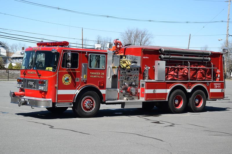 Helmetta Fire Department Tanker 36