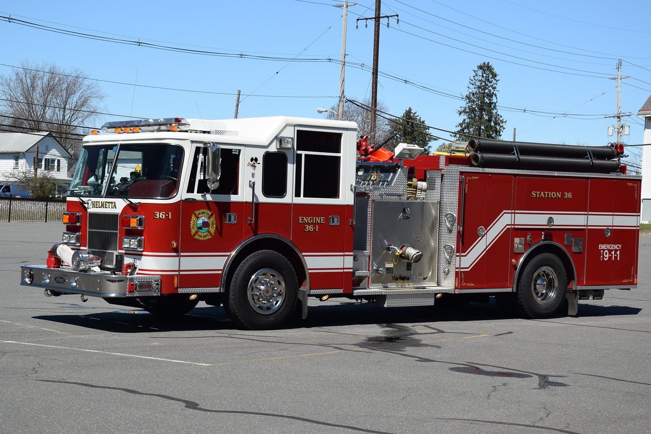 Helmetta Fire Department Engine 36-1