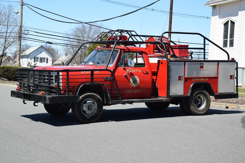 Helmetta Fire Department Bush 36